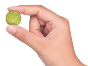 Pollupatch in einer Hand: Ein einfacher formaldehyd test